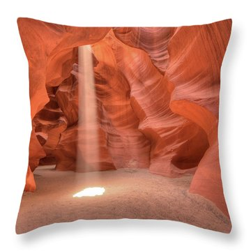 Beam Of Light Throw Pillow