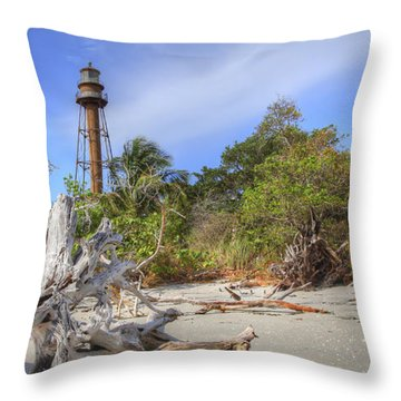 Light Behind The Stump Throw Pillow