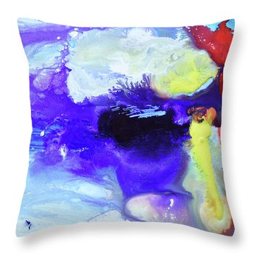 Light Being Throw Pillow