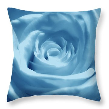 Light Blue Dream Throw Pillow