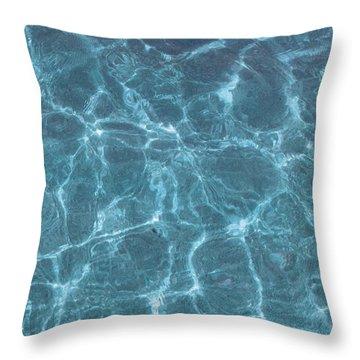 Glistening Throw Pillow
