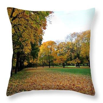 Light Blue Sky  Throw Pillow