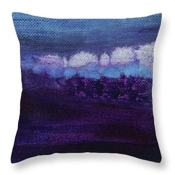 Throw Pillow featuring the painting Light Breaks Through by Kim Nelson