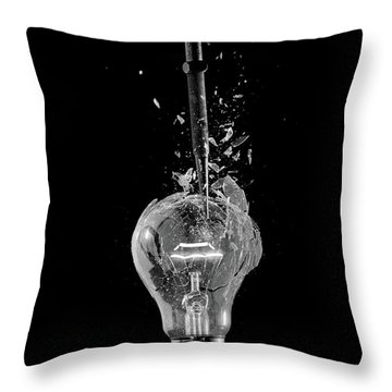 Light Bulb Throw Pillow
