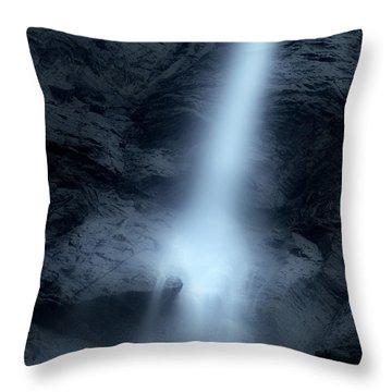 Light Fallen From The Sky Throw Pillow