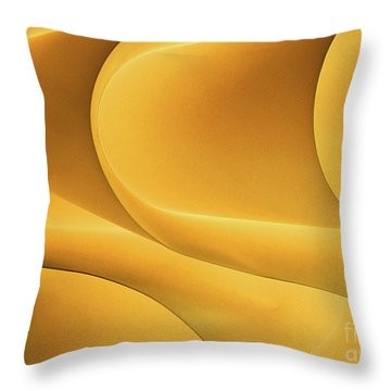 Light Form And Shadow Throw Pillow