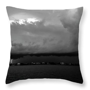 Light From The Darkness Throw Pillow by David Lee Thompson