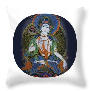 Light Giving Shiva  Throw Pillow