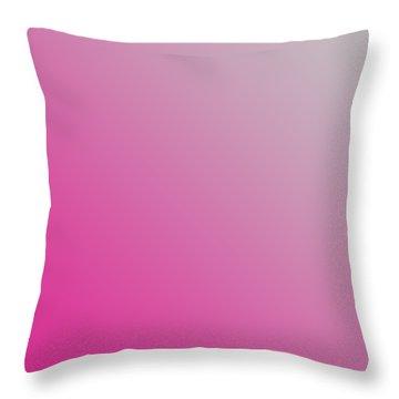 Light Gray Diagonal Ombre Throw Pillow