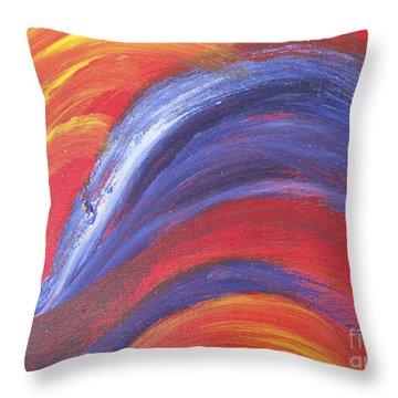 Light Harted Throw Pillow