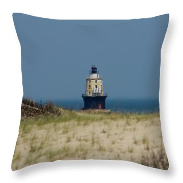 Light House At The Cape Throw Pillow
