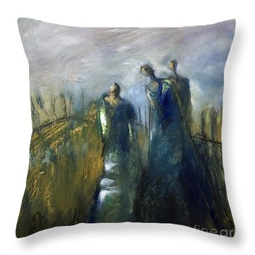 Light In Her Life Throw Pillow
