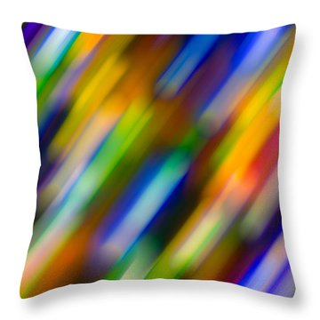 Light In Motion Throw Pillow