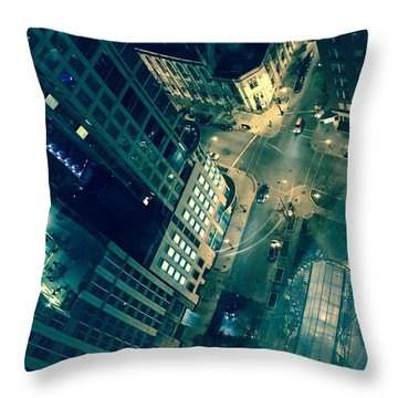 Light In The City 2 Throw Pillow