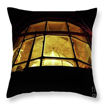 Light In The Dark Sky Throw Pillow