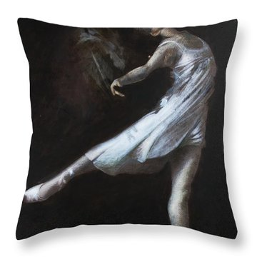 Light In The Dark Throw Pillow