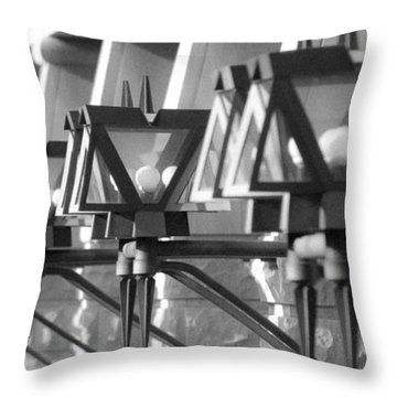 Throw Pillow featuring the photograph Light It Up by T Brian Jones