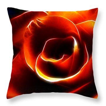 Light Kisses Throw Pillow