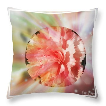 Light Layers Throw Pillow