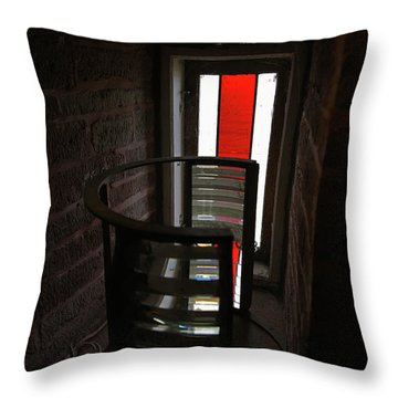 Light Lens Throw Pillow