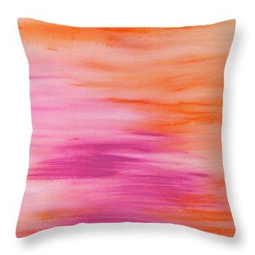 Light Like Love Throw Pillow