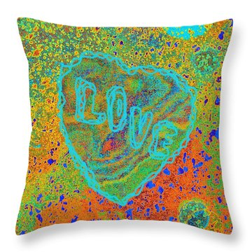 Light Love By Jasna Gopic Throw Pillow