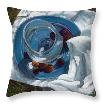 Light Lunch Throw Pillow