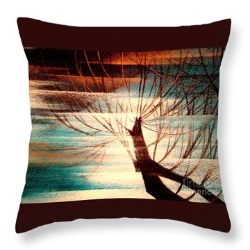 Light Melody Throw Pillow