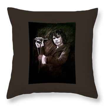 Light My Fire Throw Pillow