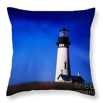 Light My Way Throw Pillow by Sheila Ping