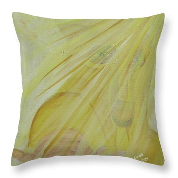Light Of God Enfold Me Throw Pillow