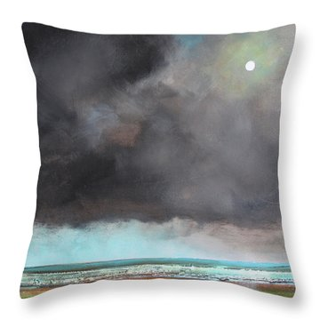 Light Of Hope Throw Pillow by Toni Grote