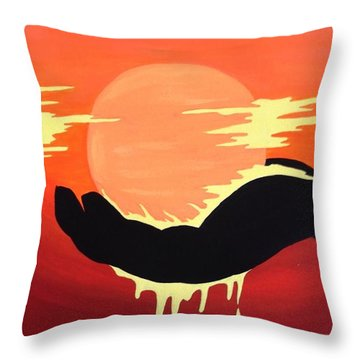 Light Of My Life Throw Pillow by Annie Walczyk