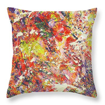 Light Of Summer Throw Pillow