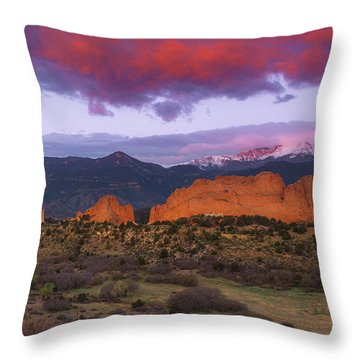 Throw Pillow featuring the photograph Light Of The Sun by Tim Reaves
