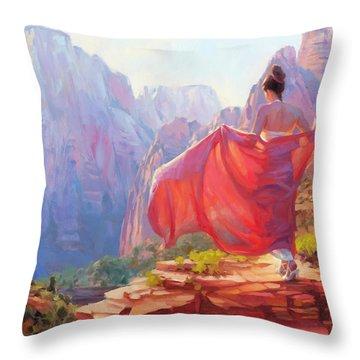 Light Of Zion Throw Pillow