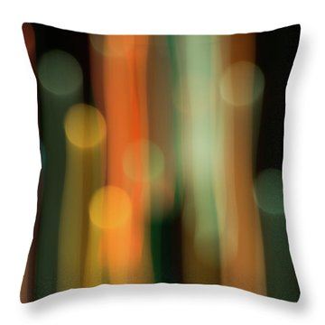 Light Painting No. 1 Throw Pillow