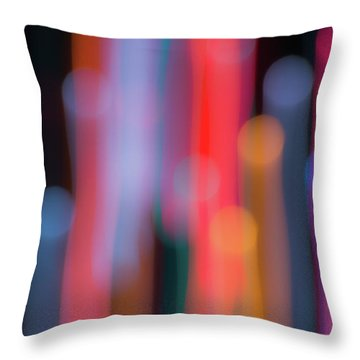 Light Painting No. 3 Throw Pillow