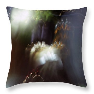Light Paintings - No 4 - Source Energy Throw Pillow