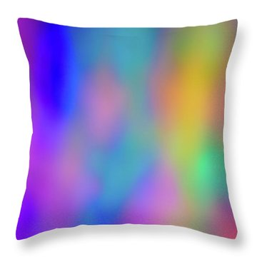 Light Painting No. 6 Throw Pillow