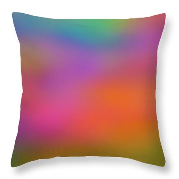 Light Painting No. 7 Throw Pillow