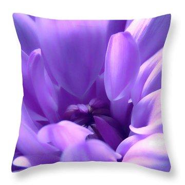 Light Purple Beauty Throw Pillow
