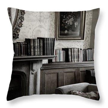 Light Reading Throw Pillow