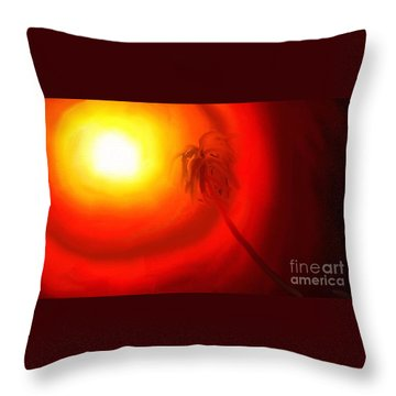 Light Throw Pillow by Rushan Ruzaick