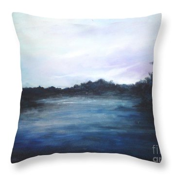 Light Sky Throw Pillow by Rushan Ruzaick