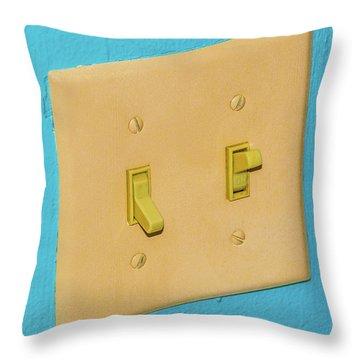 Light Switch Throw Pillow