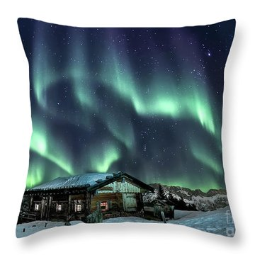 Light Through The Night Throw Pillow
