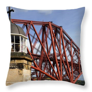 Throw Pillow featuring the photograph Light Tower by Jeremy Lavender Photography