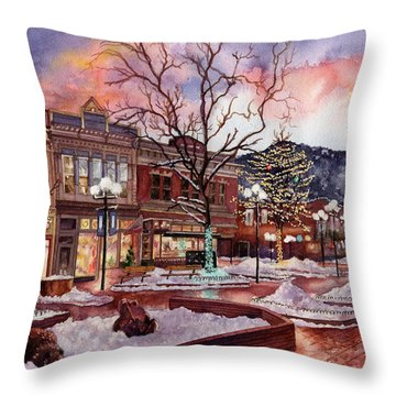 Light Up Heaven And Earth Throw Pillow