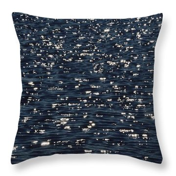 Light Waves #3 Throw Pillow by Tim Good